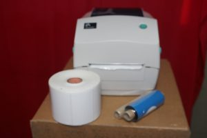Printer Thermal Barcode Zebra GC 420t
